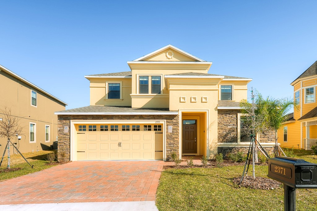 Beautiful 7 bedroom vacation home with golf course views - 7 bedroom vacation rentals in orlando ...