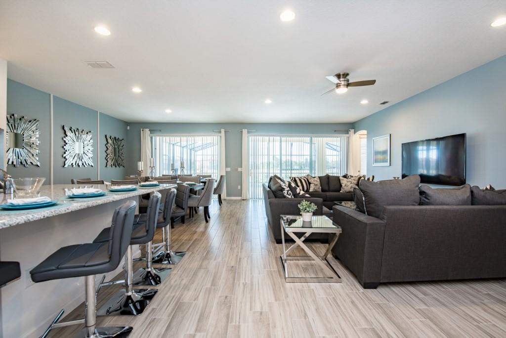 Luxurious 10 bedroom vacation home that sleeps 20 people - 10 bedroom vacation rentals orlando florida ...